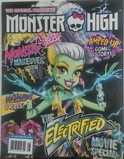 Monster High May June 2017 The Electrified Movie Special Comic FREE SHIPPING sb