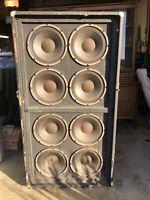 Ampeg SVT-810E Classic 8x10 Bass Speaker Cabinet Vintage Metal Grill