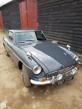 mgb gt 1967 mk1. With Overdrive. rare Grantham Grey
