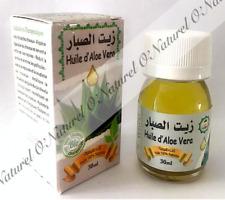 Huile d'Aloé Vera BIO 100% Pure Naturel 30ml Aloe Vera Oil, Aceite de Aloe Vera