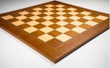 Tablero de ajedrez de madera Teka deluxe 50 cm.