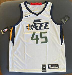Utah Jazz #10 Alec Burks Association White Swingman Jersey