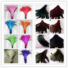 Wholesale 10-200pcs 30-35cm/12-14inch Beautiful Rooster Tail Feathers U Pick
