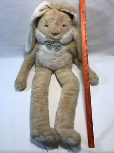 Vintage Large Princess Soft Toys Bunny Floppy Ears Tan Over 3 Feet Stuffed Plush