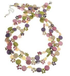 Multicolour Vibrant Beaded Necklace