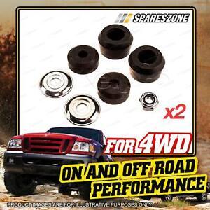 2 x Rear Shock Absorber / Strut Bush Kit for TOYOTA Hilux KDN185 KZN185 VZN185