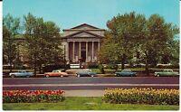 "Philadelphia PA ""Franklin Museum-Planetarium"" 1950's cars Postcard  Pennsylvania"