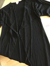 NWT Lularoe Shirley Size Small SOLID BLACK ribbed stretchy knit