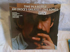 1976 JIM CROCE'S GREATEST LOVE SONGS TIME IN A BOTTLE SEALED LP,lifesong 6007