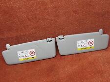 8V5857552S Sonnenblende Blende Spiegel links rechts titangrau Audi A4 8W Orig.