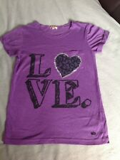 GOLDDIGGA PURPLE SHORT SLEEVED T-SHIRT. AGE 13YRS. NWOT