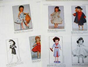 10p History Article + ID Pics -  VTG Ideal Miss Revlon Dolls - 1956-59  Sz 15-26