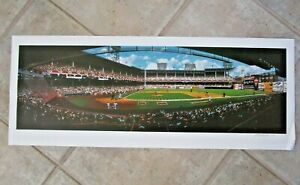 """Bill Purdom EBBETS FIELD CLASSIC 36"""" x 14""""  Lithograph 275/600 Numbered & Signed"""