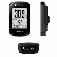 BRYTON Rider 420H ciclocomputer GPS con fascia cardio NERO