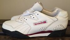 RARE VTG REEBOK LOW TENNIS ATHLETIC SHOES Sz 11.5 R 806 BB 4600 CLASSIC LEATHER