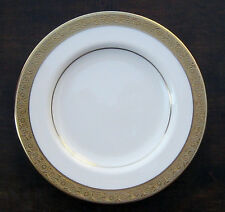 "HAVILAND USA DINNER PLATE ATHENA PATTERN GOLD ENCRUSTED 10 3/4"""