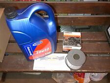 TRIUMPH TR5 TR6 ENGINE OIL + OIL FILTER 20/50 4.55 LITRES + GFE131 PAPER FILTER