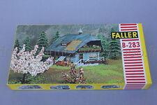 C878 Rare maquette FALLER ho B-283 8283 4 25 Schwarzwald Ferienhaus 1960 chalet