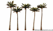 """TR3598 Woodland Scenics Palm Trees 5 Pack 4 3/4"""" - 5 1/4"""" Ready Made Trees TMC"""