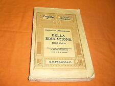 Raffaello Lambruschini, Della educazione – libro unico, G. B. Paravia