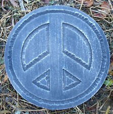 Peace plaque plastic garden casting plaque mold mould see more in my store