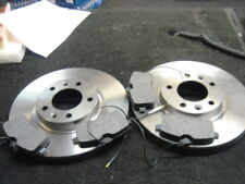PEUGEOT 407 COUPE SW SALOON BRAKE DISC & PADS FRONT CAR PARTS