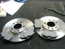 PEUGEOT 407 SW 2.2 BRAKE DISC & PADS FRONT 330MM