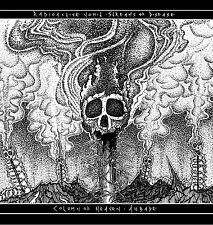 "RADIOACTIVE VOMIT / COLUMN OF HEAVEN 7"" Split Vinyl Blasphemy Conqueror Revenge"