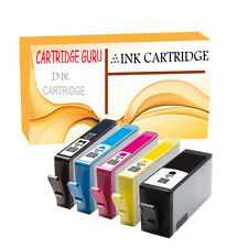 5 NonOEM Ink Cartridges For HP 364XL Photosmart Premium C309 C309g C309h