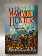 "Vintage JEAN M AUEL ""The Mammoth Hunters"" 1ST EDITION HB/DJ"