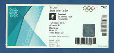 Orig. Ticket Olympic Games London 2012 Football France-Colombia!!!