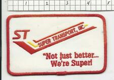 Super TRansport truck driver patch  (G2G3)