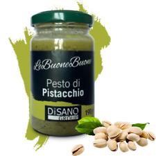 Pesto di pistacchio di Bronte con 70% pistacchi siciliani vasetto da 190 grammi