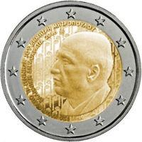 2 euro Grecia 2016 Dimitri Mitropoulos Greece Grèce Griechenland Греция