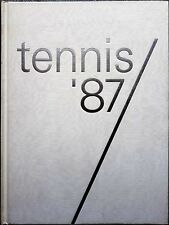 Willi Ph. Knecht (diretto da), Tennis '87, Ed. ProSport, 1987