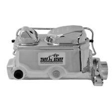 """Tuff Stuff Brake Master Cylinder 2017NA; Chrome 1.000"""" Bore Dual Reservoir"""