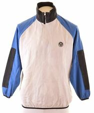 NORTH SAILS Mens Top Long Sleeve Small White Cotton  MN22