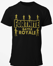 BATTLE  ROYALE Gaming FORTNITE T Shirt. Boys Kids Children Adult Gift Tee Top