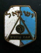 ISRAEL - FEDERATION OF FOOTBALL REFEREES VINTAGE BADGE MADE IN ITALY. ENAMEL IN