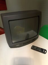 """Sanyo DS13320 13"""" CRT Color Television TV w/ Remote"""
