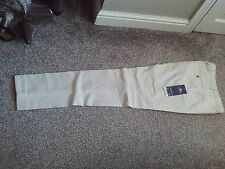 NEXT - Lovely ivory textured tailored  Skinny fit suit trouser size 30L  bnwts