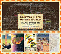 Very Good, Railway Maps of the World, Ovenden, Mark, Book