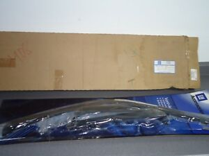 New NOS OEM GM Side Window Air Deflectors 12370635 1988-00 Chevy Chevrolet Truck