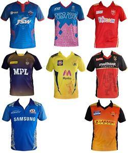 IPL Cricket 2021 & 2020 Jersey's / Shirt, T20, Cricket India, Australia