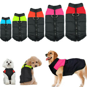 Warm Dog Winter Clothes Waterproof Small Extra Large Pet Dogs Jacket Coat S-7XL