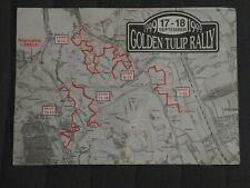 Golden Tulip Rally 1999 Karte