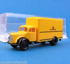 Brekina 4006 h0 MERCEDES L 311 valigetta camion Deutsche Bundespost OVP ho 1:87 POST