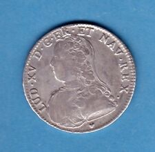 (ROY 45)LOUIS XV DEMI ECU AUX BRANCHES D'OLIVIER 1726 BB (STRASBOURG) TTB- (R2)
