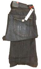 Jeans da uomo sbiaditi blu Taglia 48