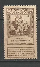 Germany/Mainz Volks & Jugendbucher poster stamp/label (Book #15)